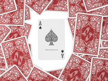 Load the picture into the gallery viewer, plastic playing cards, bridge size, double pack, standard index