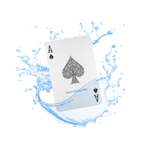Plastic playing cards, bridge size, double pack, standard index