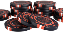 "Laden Sie das Bild in den Galerie-Viewer, Clay Poker Chips ""Corrado"" ohne Werte - 25er Rolle"