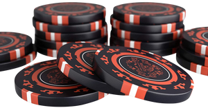 "Clay Poker Chips ""Corrado"" without values ​​- roll of 25"