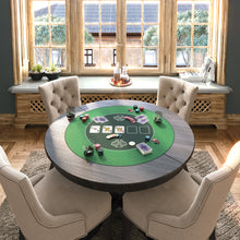 Load the picture into the gallery viewer, poker mat 100x60 cm, square