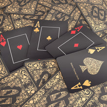 "Load the picture into the gallery viewer, Plastic Poker Cards ""Black Edition"""