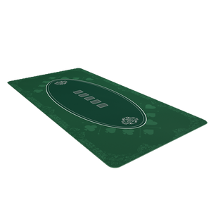 Poker mat 200 x 100cm, square - casino design