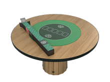 Load the picture into the gallery viewer, poker mat round, 70 cm diameter