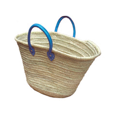 Blue Handled Farmers Market Bag