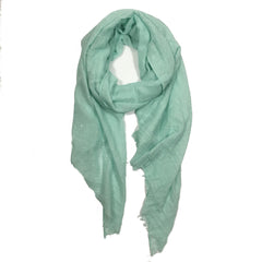 Sea Foam Shimmering Scarf