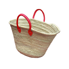 Red Handled Market Bag