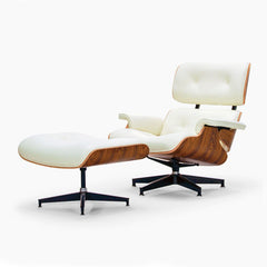 Iconic Seaside Luxe Lounger with Ottoman