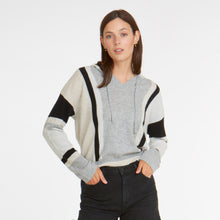 Load image into Gallery viewer, Vertical Stripe Baja Hoodie