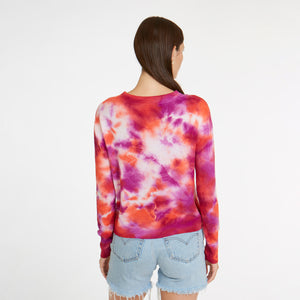Tie Dye Crew in Crab Bisque