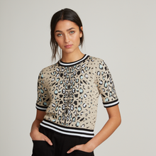 Load image into Gallery viewer, Leopard Jacquard S/S