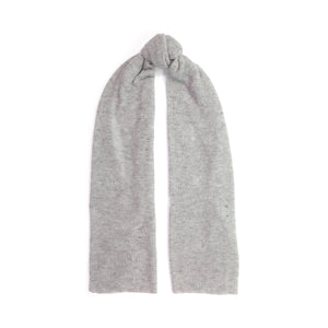 Distressed Cashmere Wrap in Grey