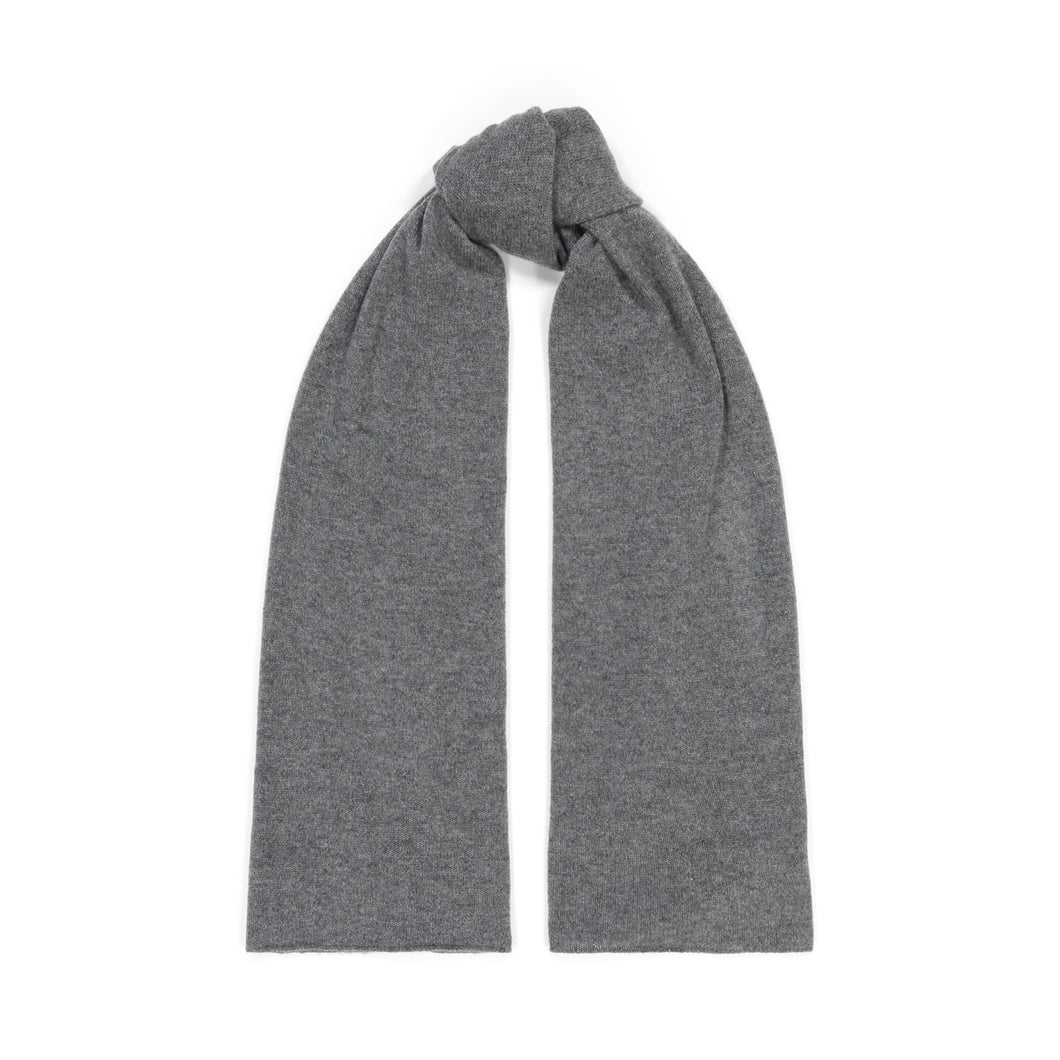 Cashmere Scarf in Bankers Grey