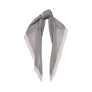 Distressed Triangle Scarf