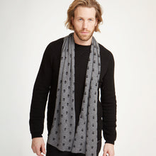 Load image into Gallery viewer, Skull Print Cashmere Scarf