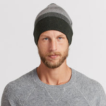Load image into Gallery viewer, Ombre Striped Reversible Beanie