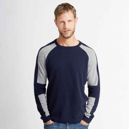 Colorblock Raglan w/ Moto Stitch