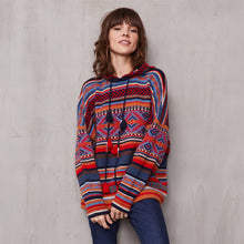 Load image into Gallery viewer, Tribal Hoodie in Cashmere | Autumn Cashmere