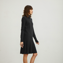 Load image into Gallery viewer, Pleated Drop Waist Dress
