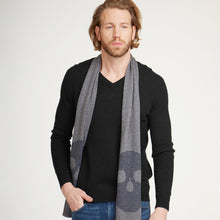 Load image into Gallery viewer, Men's Basic V-Neck Sweater by Autumn Cashmere. Black. 100% Cashmere. Rib Bottom.