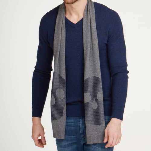 Feeder Stripe Skull Scarf