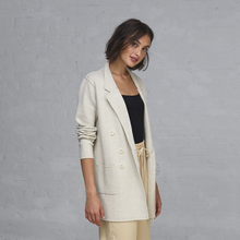 Load image into Gallery viewer, Boyfriend Milano Blazer in Hemp