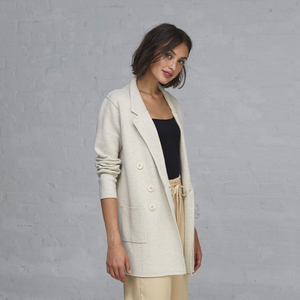 Boyfriend Milano Blazer in Hemp