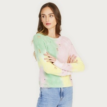 Load image into Gallery viewer, Autumn Cashmere | Distressed Splotch Shaker Crew Pastel