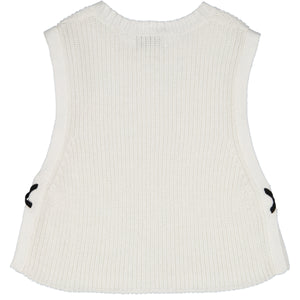 Tabard with Contrasting X Side Stitches | Girls' Clothing & Apparel | Autumn Cashmere