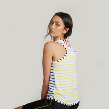 Load image into Gallery viewer, Stripe Block Racer Back Tank / FINAL SALE