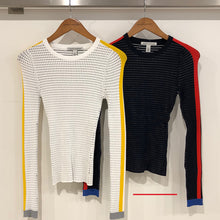 Load image into Gallery viewer, Ribbed L/S Crew with Athletic Stripes / FINAL SALE