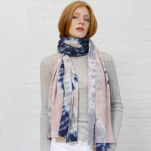 Load image into Gallery viewer, Tie Dye Featherweight Wrap in Neutral Multi