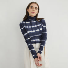 Load image into Gallery viewer, Tie Dye Ribbed Turtleneck