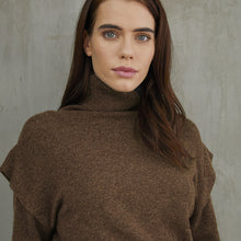 Load image into Gallery viewer, Flange Shoulder Turtleneck