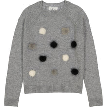 Load image into Gallery viewer, Fur Pom Pom Sweatshirt Sweater | Girls' Clothing & Apparel | Autumn Cashmere
