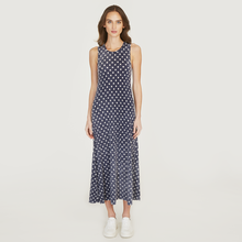 Load image into Gallery viewer, Polka Dot Flared Dress