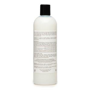 Cashmere Wash by The Laundress. Autumn Cashmere. Whitens Brightens Preserves Cashmere. Dry Clean at Home. Care Detergent.