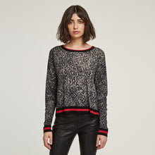 Load image into Gallery viewer, Sporty Leopard Crew | Autumn Cashmere