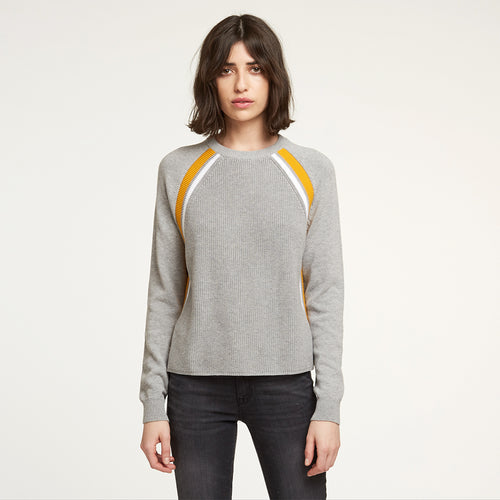Athletic Shaker Raglan in Sweatshirt