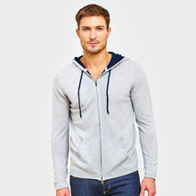 Load image into Gallery viewer, Cashmere Hoodie with Contrast Lining | Men's Sweaters & Pullovers | Autumn Cashmere