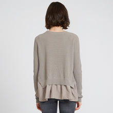 Load image into Gallery viewer, Cashmere Shaker with Shirting in Khaki