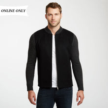 Load image into Gallery viewer, Cashmere Zip Up Jacket | Mens Bomber Coat | Golfer Jacket | Autumn Cashmere