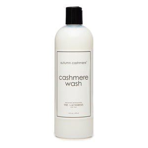 Cashmere Wash by The Laundress. Autumn Cashmere. Dry Clean at Home. Clean Cashmere to Last a Lifetime.