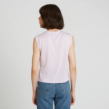 Load image into Gallery viewer, Muscle Tee with Pocket in Lilac | Autumn Cashmere