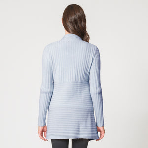 Cashmere Rib Drape in Oxford