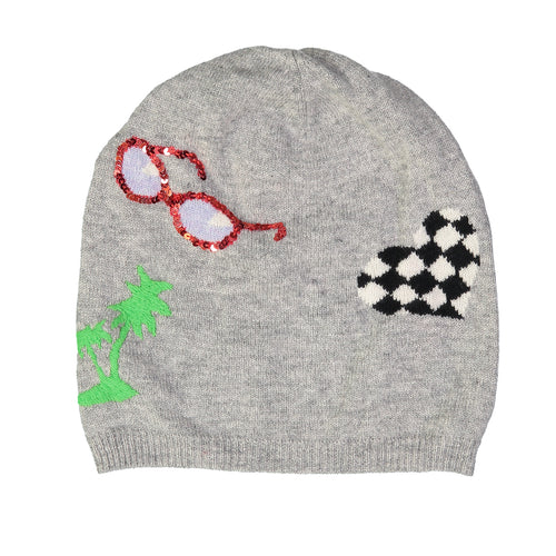 Tropical Patches Beanie