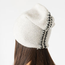 Load image into Gallery viewer, Blanket Stitch Beanie Hat