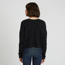 Load image into Gallery viewer, Distressed Cashmere V-Neck Sweater