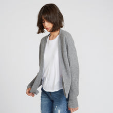 Load image into Gallery viewer, Cashmere Shaker Open Cardigan