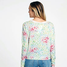 Load image into Gallery viewer, Multi Color Leopard Crew Pullover | Women's Apparel & Clothing | Autumn Cashmere